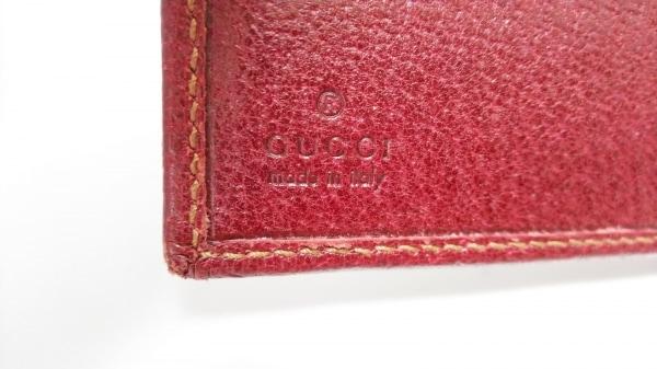 GUCCI(グッチ) Wホック財布 GG柄 112664 ベージュ×ダークブラウン×ボルドー