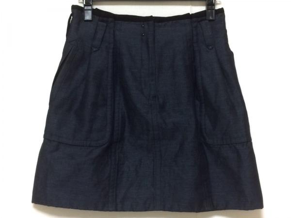DRAWER.(ドロウアー) スカート サイズ38 M レディース美品  ネイビー デニム