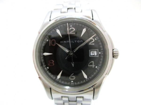 HAMILTON(ハミルトン) 腕時計美品  ジャズマスター H323110 レディース 黒