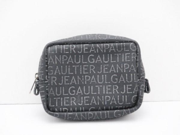 JeanPaulGAULTIER(ゴルチエ) ポーチ 黒 化学繊維