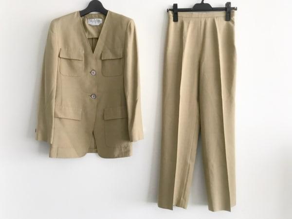 マックスマーラ レディースパンツスーツ サイズ36 S レディース美品  ライトブラウン