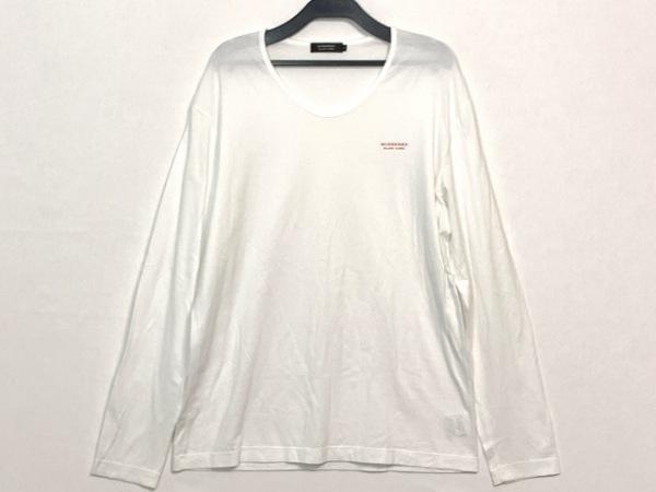 Burberry Black Label(バーバリーブラックレーベル) 長袖Tシャツ サイズ3 L メンズ 白