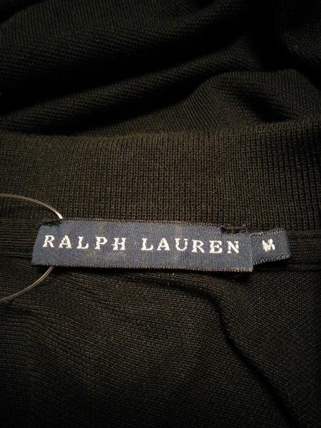 3ab8904c60443 ... RalphLauren(ラルフローレン) ワンピース サイズM レディース 黒 ポロシャツワンピ ...