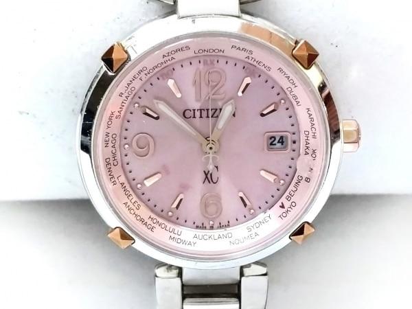 CITIZEN(シチズン) 腕時計 XC H240-T019587 レディース エコドライブ ピンク