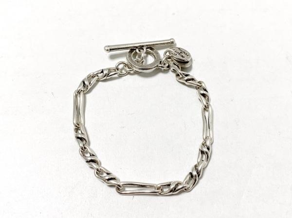 PHILIPPE AUDIBERT(フィリップオーディベール) ブレスレット美品  金属素材 シルバー