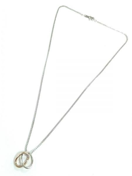 4℃(ヨンドシー) ネックレス美品  シルバー ゴールド