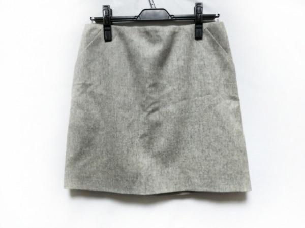 PAULEKA(ポールカ) スカート サイズ40 M レディース美品  ライトグレー