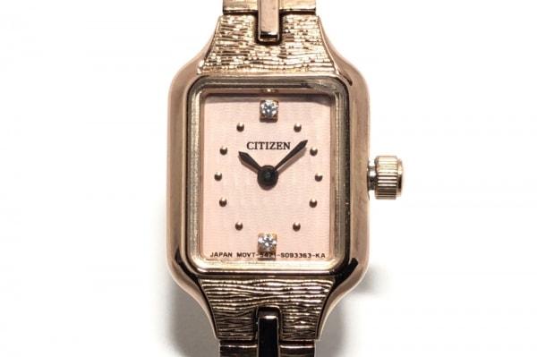 CITIZEN(シチズン) 腕時計 5421-S063001 レディース ピンクベージュ