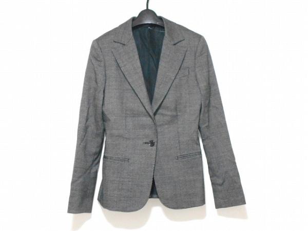 ユニバーサルランゲージ ジャケット サイズ40 M レディース美品  黒×白