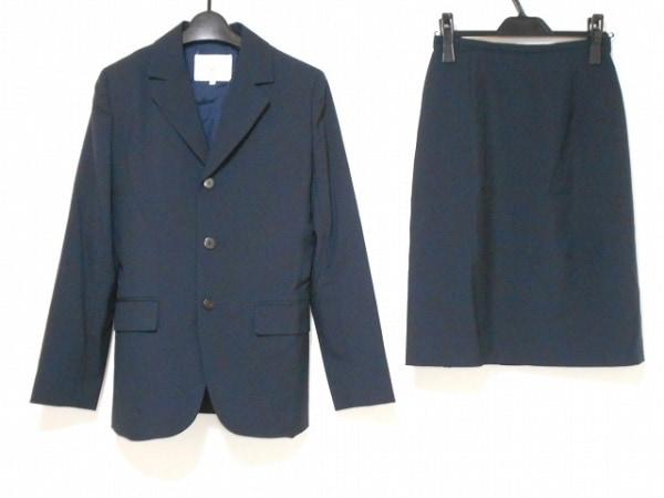 ef-de(エフデ) スカートスーツ サイズ2 M レディース美品  ダークネイビー