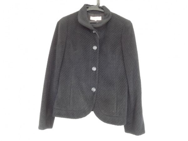 SunaUna(スーナウーナ) コート サイズ40 M レディース 黒 アンゴラ/ショート丈/冬物