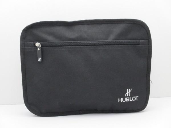 HUBLOT(ウブロ) ポーチ美品  黒 ナイロン