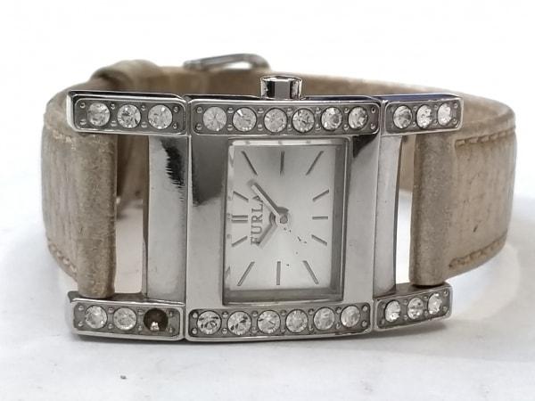 95f4f77a02cc ... FURLA(フルラ) 腕時計 002350-01-67 レディース ラインストーンベゼル シルバー ...