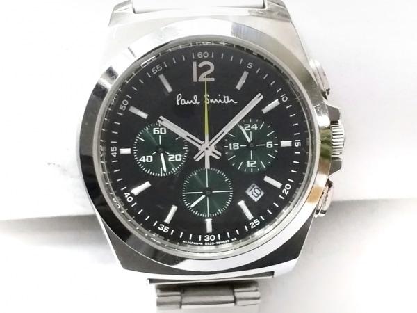 PaulSmith(ポールスミス) 腕時計 GN-4W-S メンズ クロノグラフ 黒