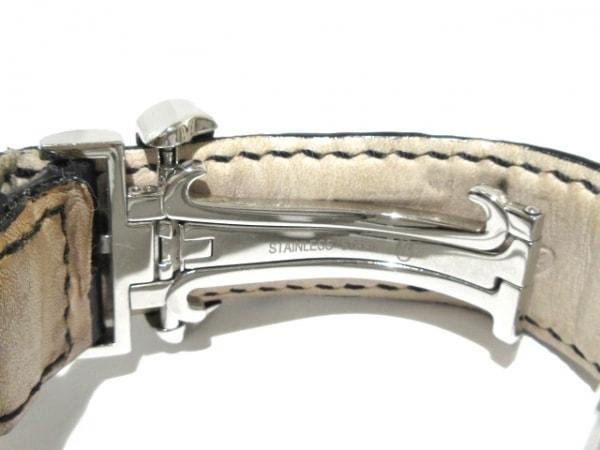 JACOB&CO.(ジェイコブ) 腕時計 - メンズ SS/裏スケ/クロノグラフ/革ベルト 黒