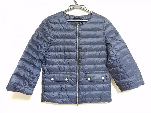 タトラス ダウンジャケット サイズ02 M レディース美品  LTA9SP4658 ネイビー 冬物