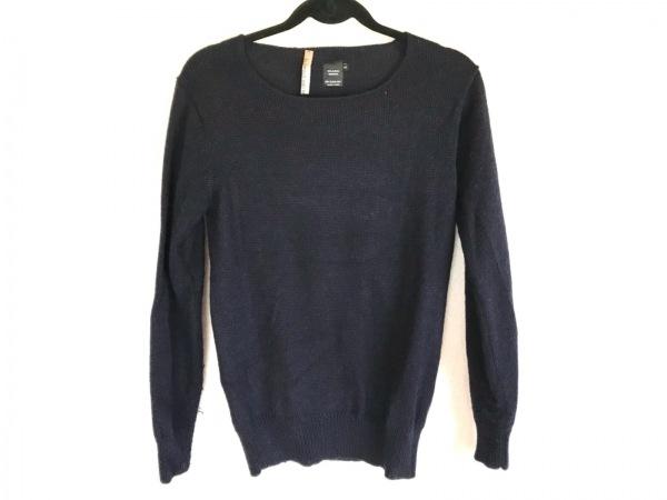 ティボー バンデル ストラー 長袖セーター サイズS メンズ ダークネイビー