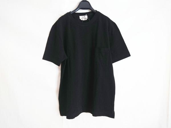 HERMES(エルメス) 半袖Tシャツ メンズ美品  黒