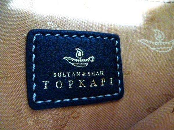 TOPKAPI(トプカピ) ハンドバッグ 黒 レザー