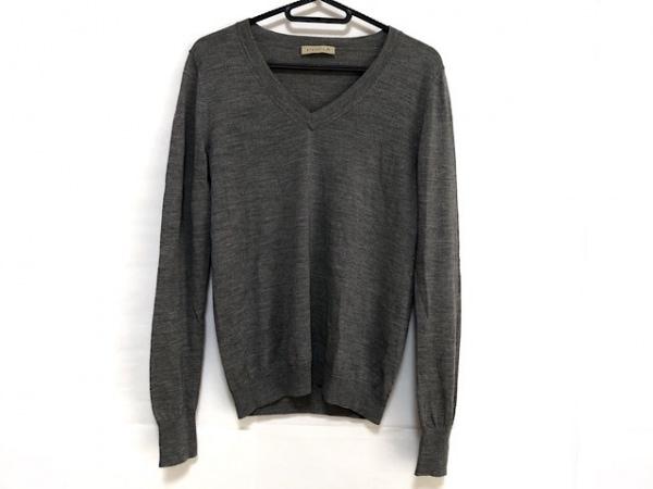 シンクロクロシング 長袖セーター サイズ38 M レディース美品  グレー