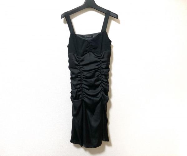 ルジュール ドレス サイズ36 S レディース美品  黒 ラインストーン/2点セット