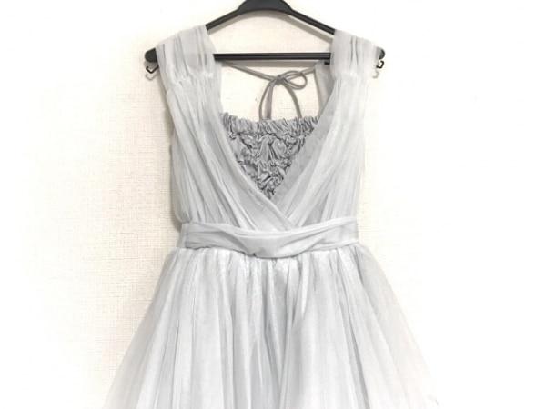 snidel(スナイデル) ドレス サイズ0 XS レディース美品  ライトグレー