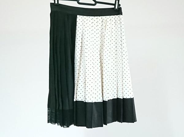 アレキサンダーワン スカート サイズ0 XS レディース美品  アイボリー×黒