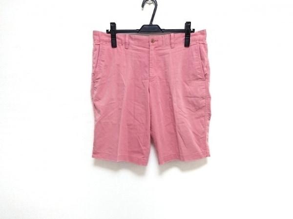 LANVIN COLLECTION(ランバンコレクション) ショートパンツ メンズ美品  ピンク