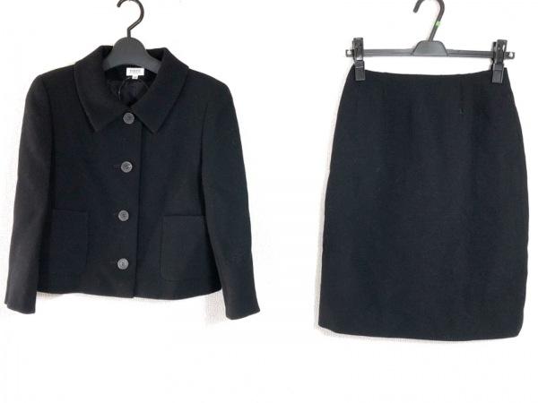 FOXEY(フォクシー) スカートスーツ サイズ38 M レディース 黒