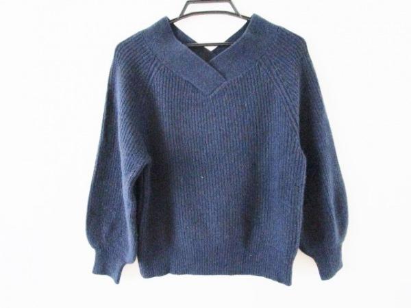 anatelier(アナトリエ) 長袖セーター サイズ38 M レディース ネイビー
