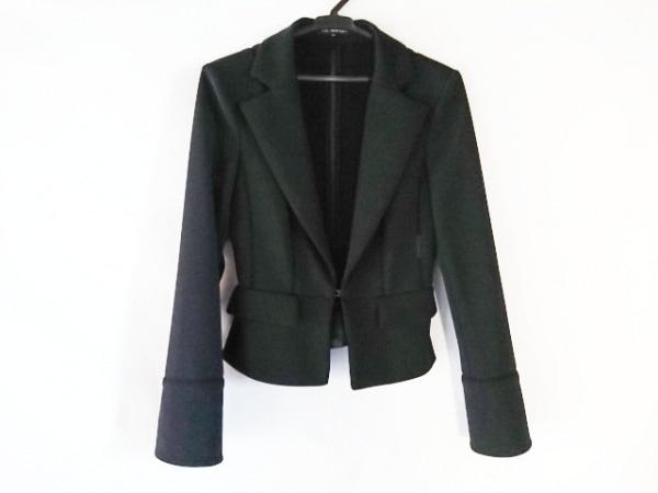 フォクシーニューヨーク ジャケット サイズ40 M レディース美品  黒 部分メッシュ