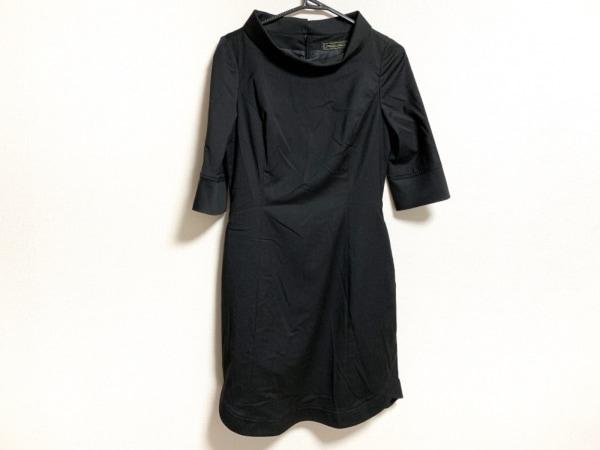 MADAME HIROKO(マダムヒロコ) ワンピース サイズ9AR S レディース美品  黒