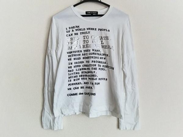 COMMEdesGARCONS(コムデギャルソン) 長袖Tシャツ サイズM レディース 白