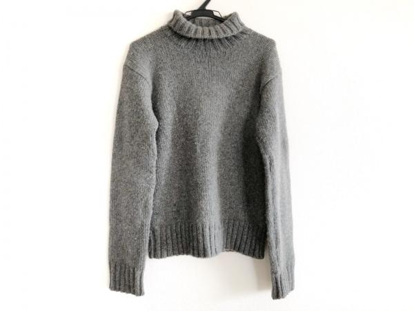 ラルフローレン 長袖セーター サイズS レディース グレー ハイネック/カシミヤ