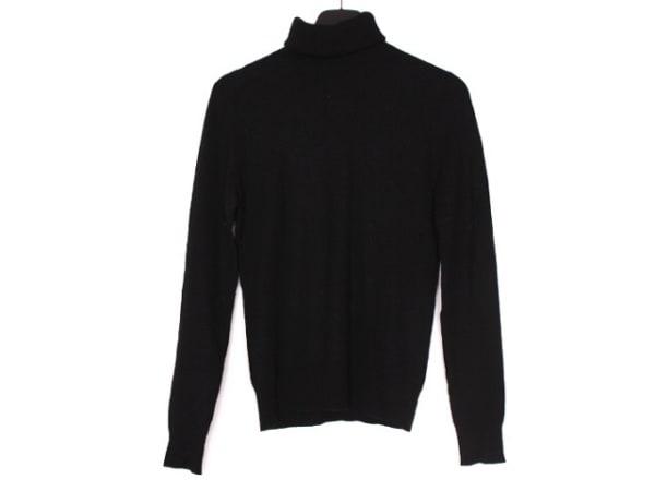 RalphLauren(ラルフローレン) 長袖セーター サイズL レディース 黒 タートルネック