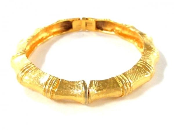 KENNETH JAY LANE(ケネスジェイレーン) バングル美品  金属素材 ゴールド