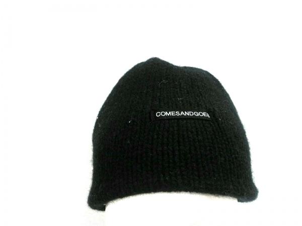 COMESANDGOES(カムズアンドゴーズ) ニット帽美品  ダークネイビー ウール