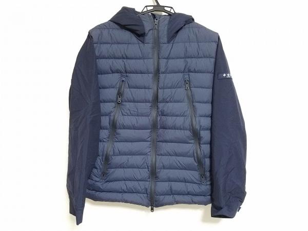 タトラス ダウンジャケット サイズ04 XL メンズ美品  MTK18A459 ネイビー 冬物