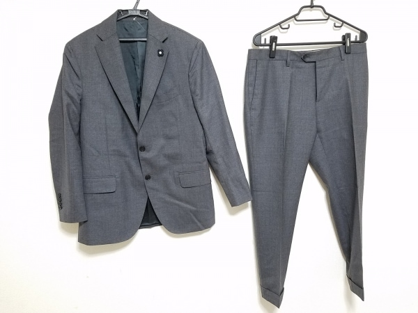 lardini(ラルディーニ) シングルスーツ サイズ50 メンズ美品  グレー