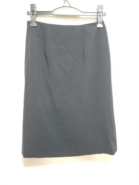 7ca857cbf436 ... PRADA(プラダ) スカート サイズ38 S レディース美品 ダークネイビー ...
