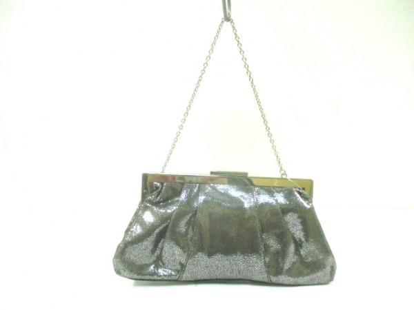 CalvinKlein(カルバンクライン) ハンドバッグ シルバー 化学繊維×金属素材