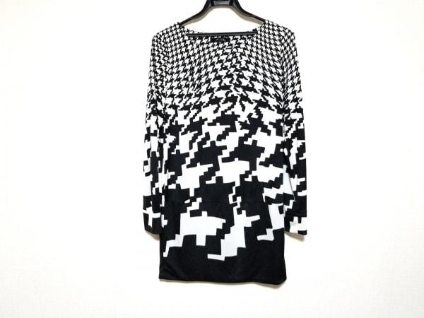 MADAM JOCONDE(マダムジョコンダ) ワンピース サイズ40 M レディース美品  黒×白