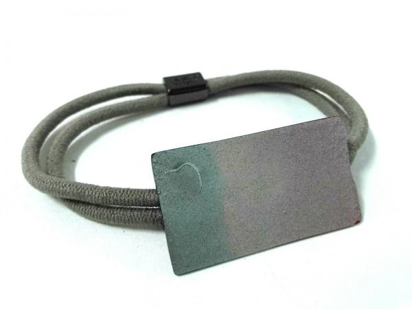コレットマルーフ アクセサリー美品  プラスチック×化学繊維 ピンク×ブルー×グレー