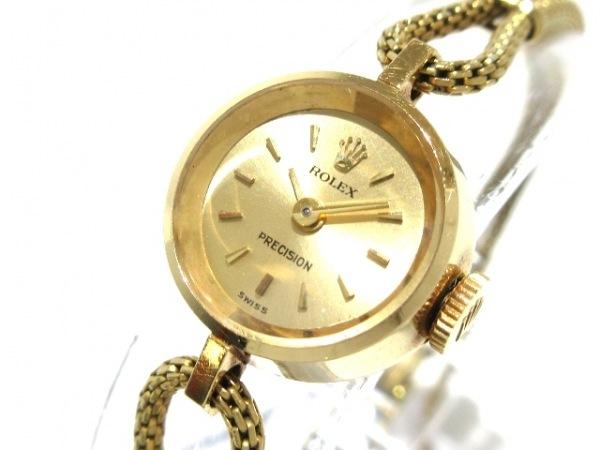 ロレックス 腕時計 プレシジョン 2633 レディース アンティーク/社外ベルト/要OH