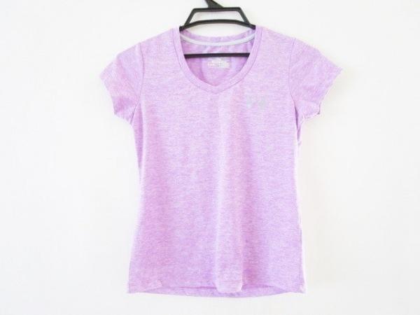 UNDER ARMOUR(アンダーアーマー) 半袖Tシャツ サイズSM レディース美品  パープル