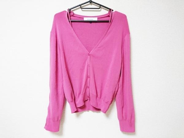 LE CIEL BLEU(ルシェルブルー) カーディガン サイズ36 S レディース美品  ピンク