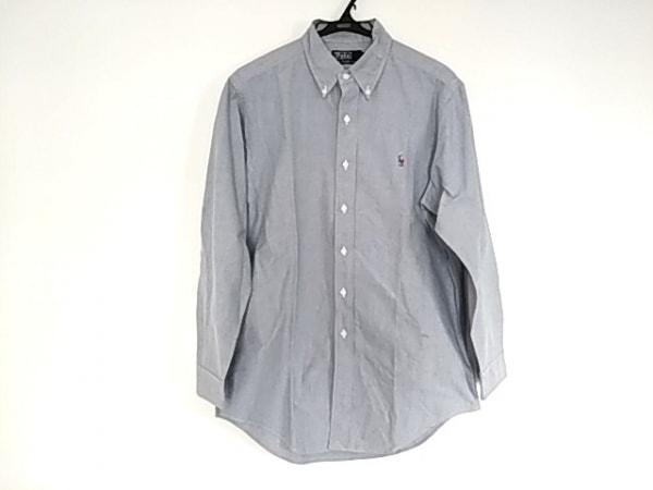 POLObyRalphLauren(ポロラルフローレン) 長袖シャツ サイズ40 M メンズ美品  ブルー