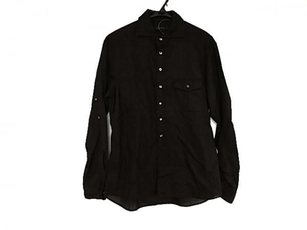 DESIGNWORKS(デザインワークス) 長袖シャツ サイズ50 メンズ美品  黒