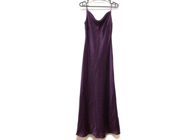 La Defence(ラデファンス) ドレス サイズ9 M レディース美品  パープル
