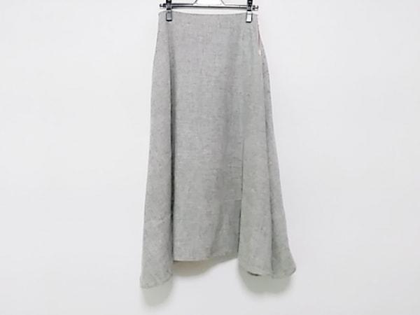 MADISON BLUE(マディソンブルー) ロングスカート サイズ2 M レディース ダークグレー